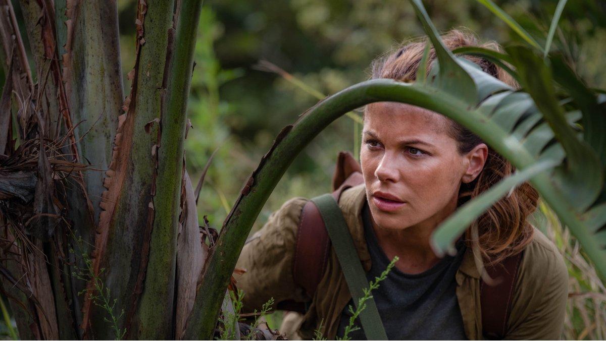 La actrizKate Beckinsale, en la serie de Amazon Prime Video The Widow.