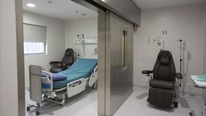 Nueva unidad de terapia de medicina nuclear en el Hospital Vall d'Hebron.