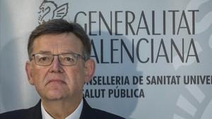 Ximo Puig, presidente de la Comunidad Valencia.