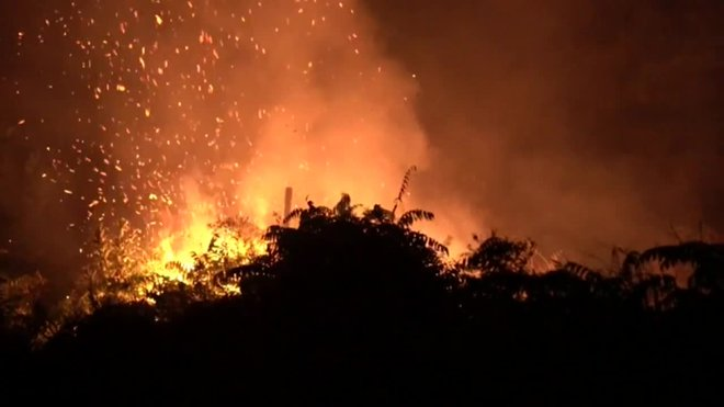 Las llamas arrasan Indonesia
