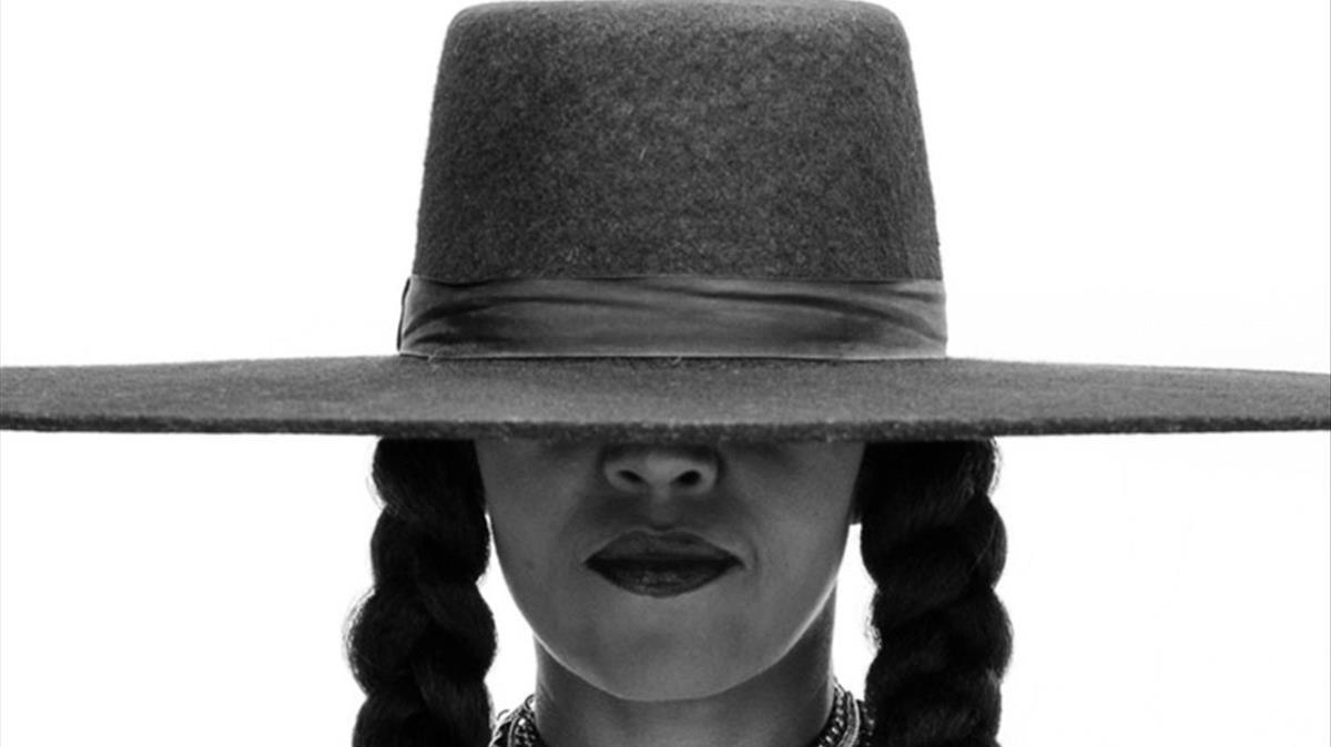 Michelle Obama, como Beyoncé.