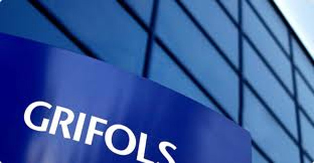Logotipo de la empresa Grifols, con sede en Parets del Vallès.