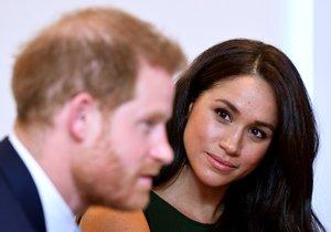 Los duques de Sussex, durante una recepción en Londres, el pasado día 15.