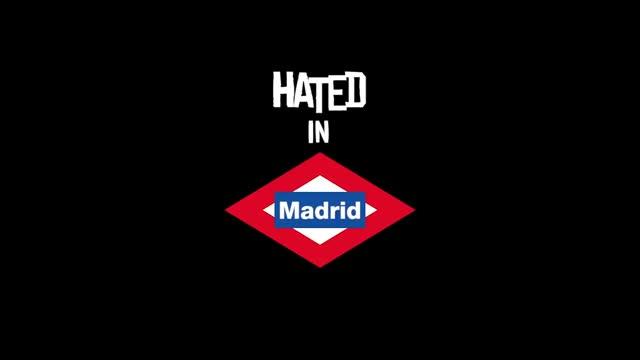 En agosto pasado, un grupo que se hace llamar Hated Crew planificó y llevó a cabo esta intervención en el Metro de Madrid. Después, colgó este vídeo en YouTube. Las videoproducciones de estas bandas son cada vez más sofisticadas.