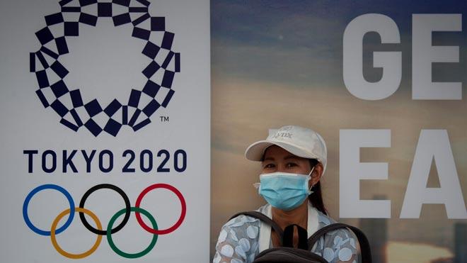 Los Juegos Olímpicos de Tokio se aplazan al 2021 por el coronavirus. En la foto, vista general del Estadio Nacional Olímpico de Tokio.