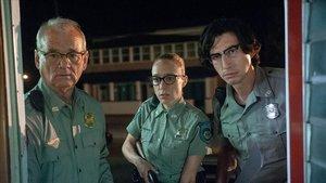 Bill Murray, ChloeSevigny y Adam Driver, en 'Los muertos no mueren'.