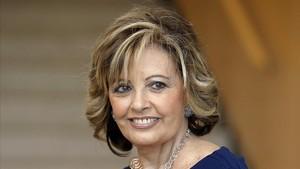 La popular periodista María Teresa Campos.