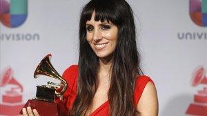 La Mala Rodríguez, en los Grammy Latinos del 2013.