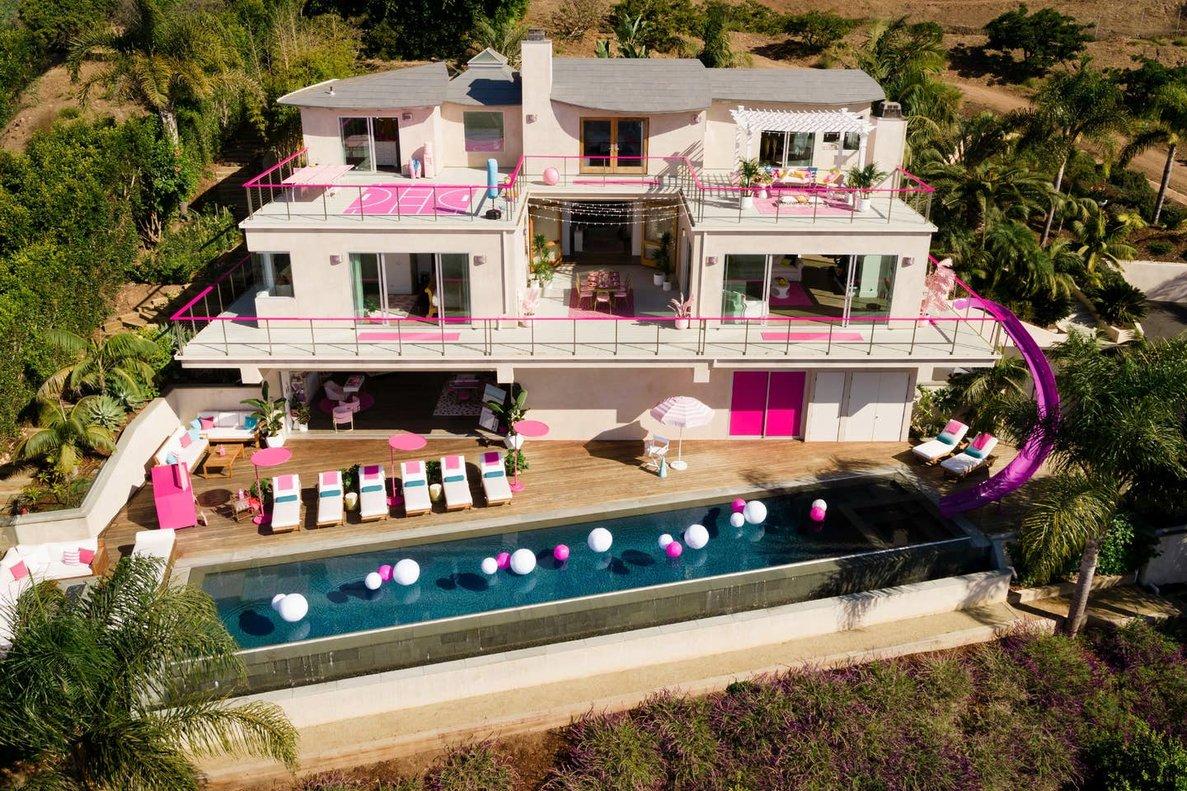 La mansión de Barbie, más conocida como 'Dreamhouse'.