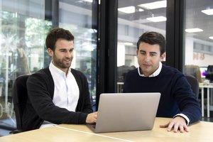 Marc Soler y Jaime Farres, fundadores de 21Buttons, la app para los amantes de la moda.// 21Buttons