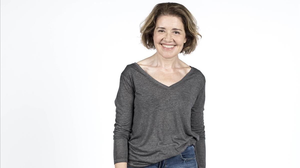 María Pujalte es la profesora María Bolaño en 'Merlí: sapere aude'.