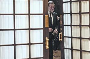 Mariano Rajoy, este miércoles, 27 de mayo, en el Congreso de los Diputados.