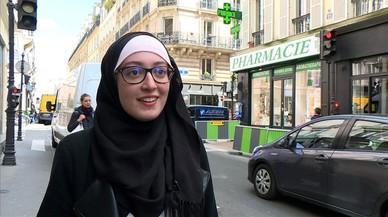 Controversia en Francia por el velo de la portavoz de un sindicato de estudiantes