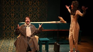 'La mascarada', en el Teatre Akadèmia.