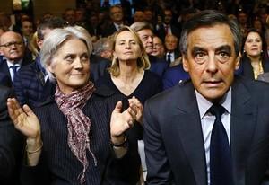 El matrimonio Fillon, en el año 2016, en París.