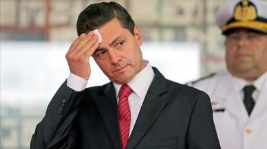 Peña Nieto, una estrella en caída libre