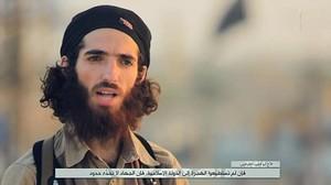 Muhammad Yassin Ahram Pérez, portavoz de Estado Islámico, reivindica los atentados de Barcelona y Cambrils.