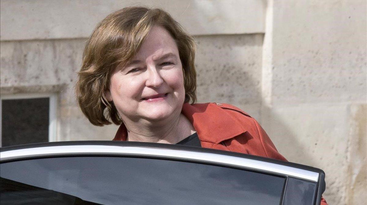 Nathalie Loiseau, la semana pasada.