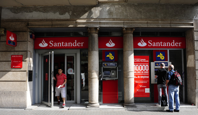 La cnmv multa el santander amb 17 milions d 39 euros for Horario oficinas banco santander barcelona