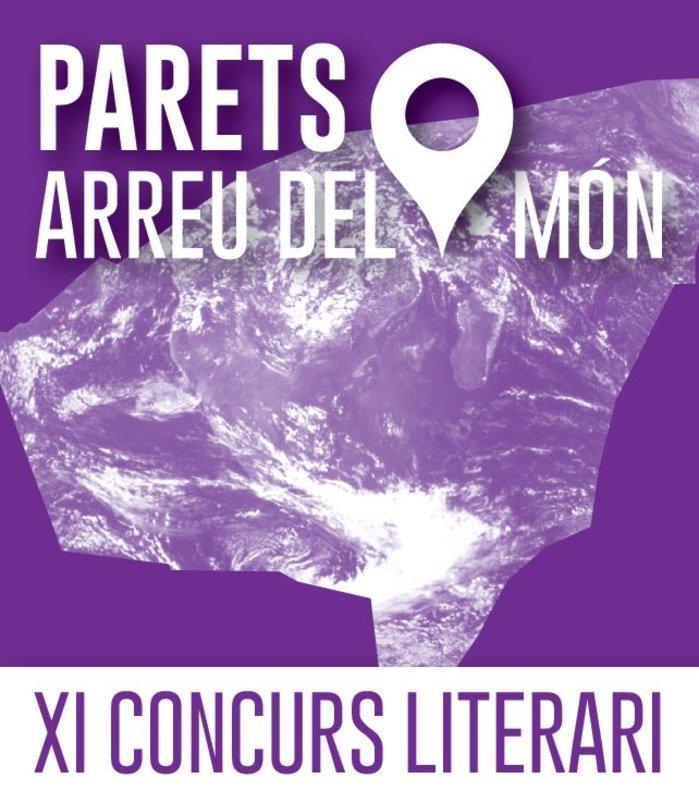 Cartel del concurso literario'Parets arreu del món' .