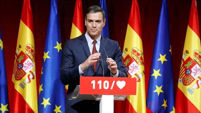 Pedro Sánchez presenta sus medidas para que España avance.