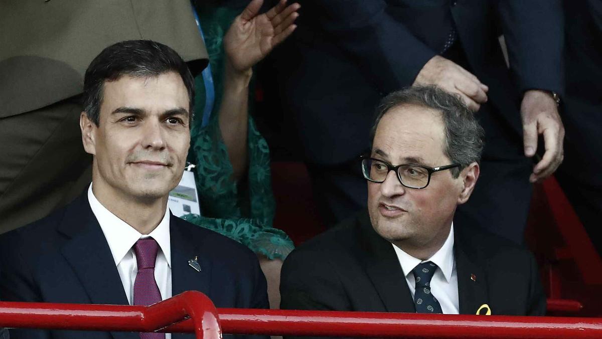 Pedro Sánchez y Quim Torra, el pasado 22 de junio, en Tarragona.