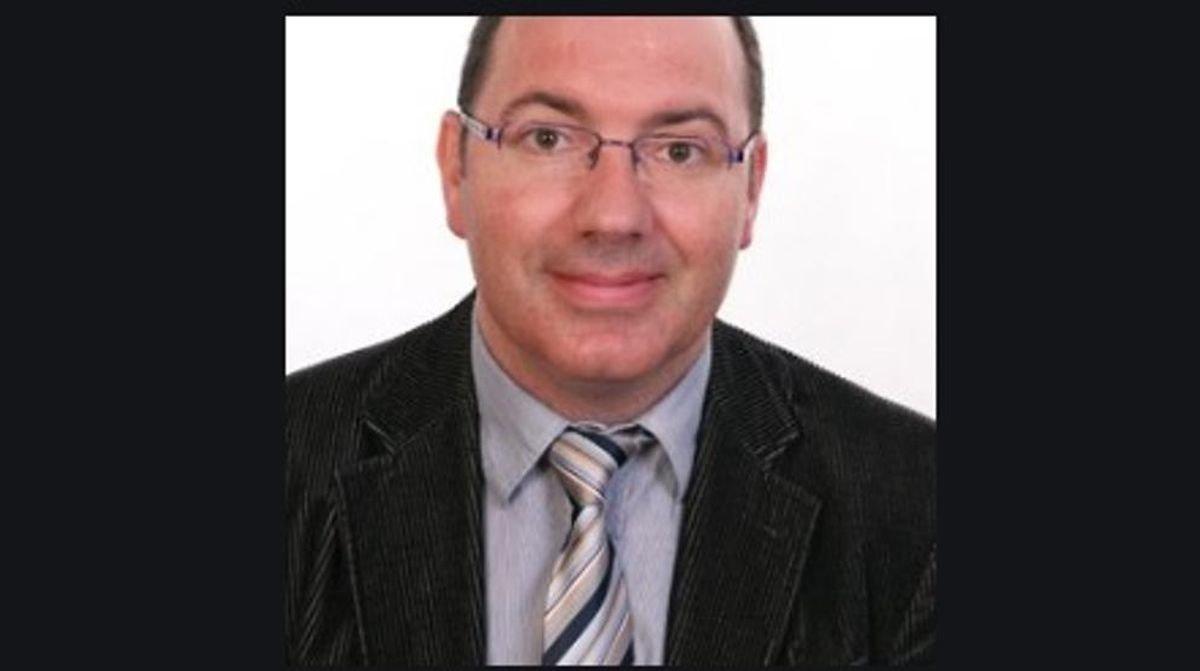 El periodista David Caminada, asesinado en las cercanías de la plaza de Sant Jaume de Barcelona.