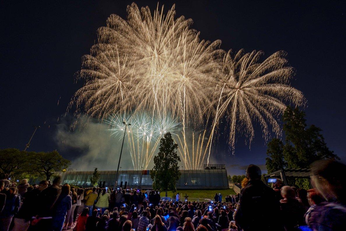 Piromusical de la Fiesta Mayor de Sant Boi 2019