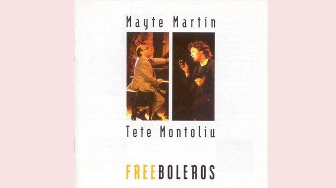 Portada de 'Free boleros', de Mayte Martín y Tete Montoliu.