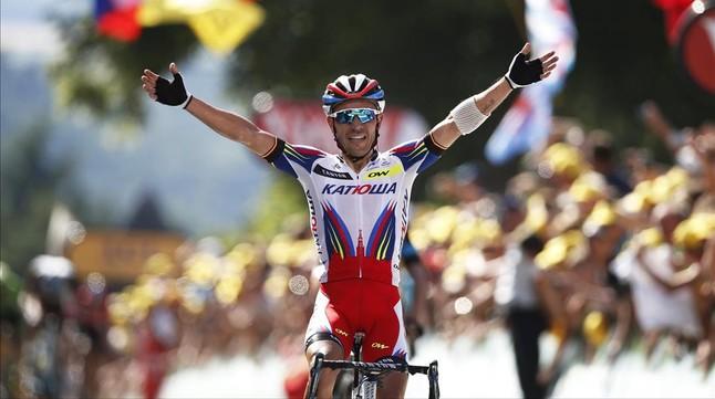 Purito Rodríguez entra vencedor a Huy.