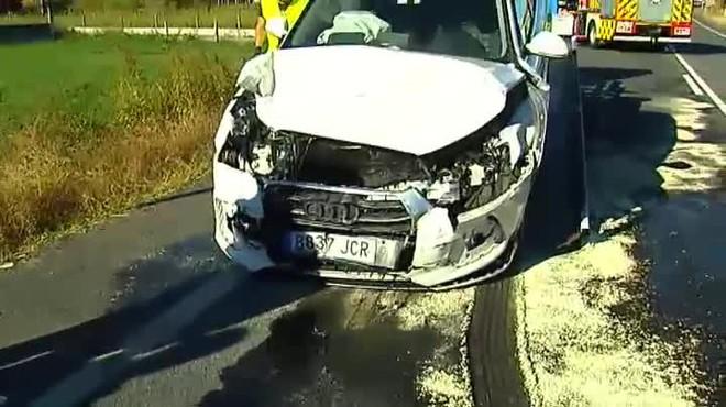 Mor una nena de 3 anys en un accident a Vilanova de Arousa