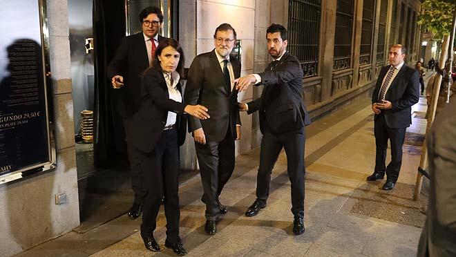 El PNVle confirmó su apoyo a la moción de censura, y su salida de la Moncloa.