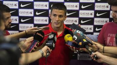 Sergi Palencia, el paciente culé del Barça B