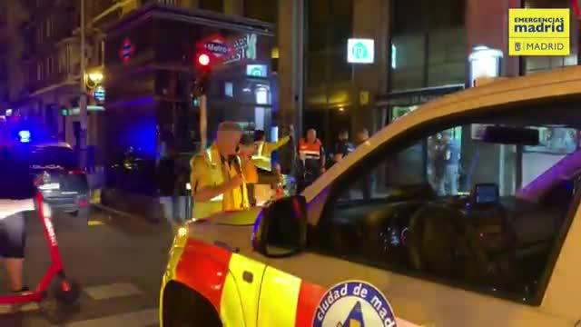 Una batalla campal entre bandes llatines provoca nou detinguts i set ferits a Madrid