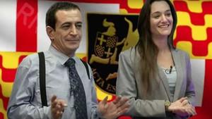 Los economistas virales de las hipotecas se tatúan la bandera de Tabarnia