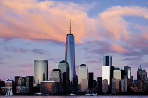 Skyline de Nueva York, la ciudad más fotografiada, según Google.