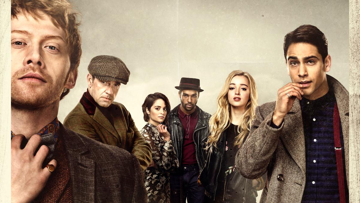 Imagen promocional de la serie Snatch, producción que Orange estrenará en exclusiva en España.