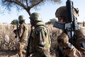 Soldados en Malí.