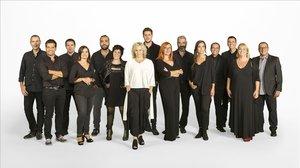 Algunos de los presentadoresde la nueva temporada 2019-20 de Catalunya Ràdio.