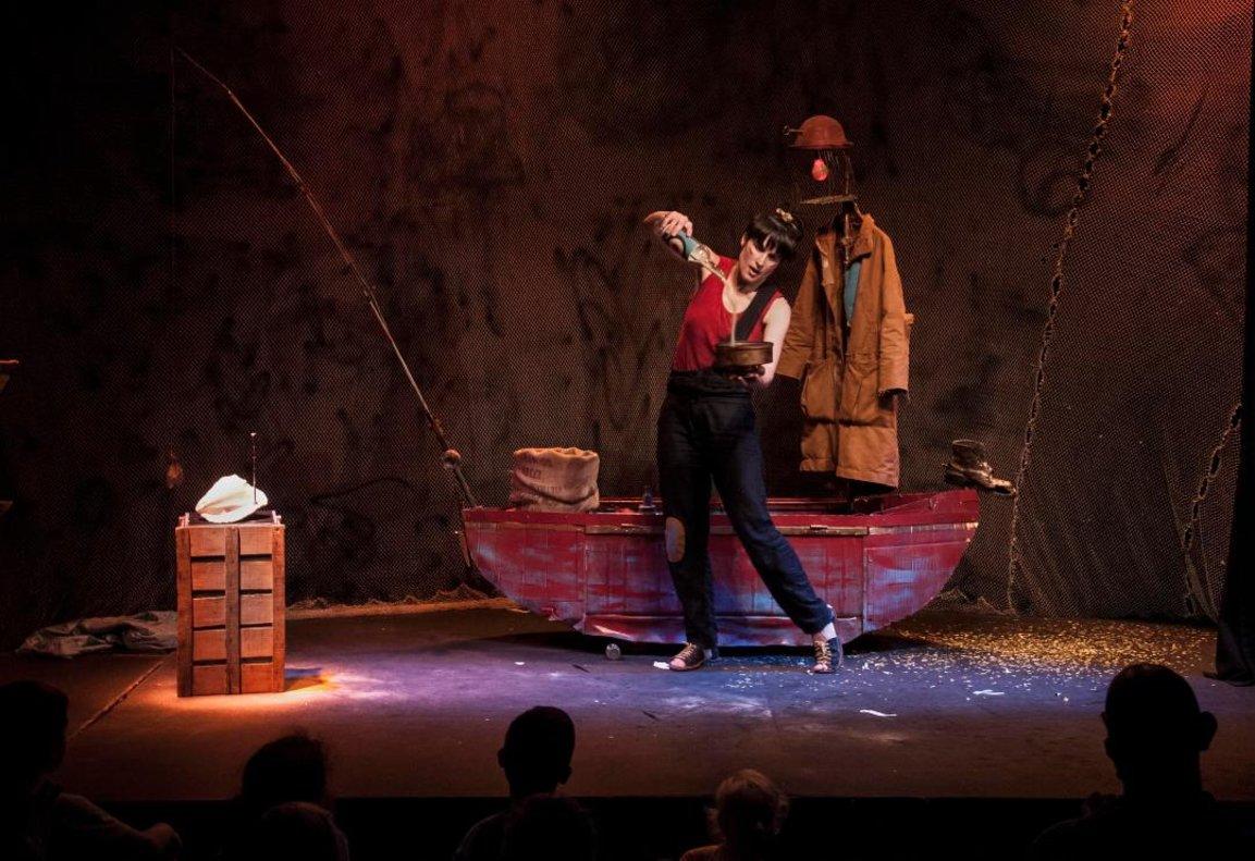 Joana Rhein protagoniza 'Hai, la pescadora de somnis'.