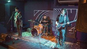 El trío de Manresa Bright Joy, en concierto en la Sala Taro.