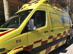 Una ambulancia de Palma.