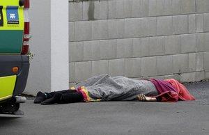Una de las víctimas en el ataque a dos mezquitas en Christchurch, Nueva Zelanda.