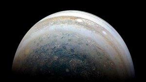 Júpiter desde la nave 'Juno'.