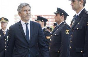 Marlaska destaca que si Puigdemont va a declarar al judici de l'1-O serà detingut