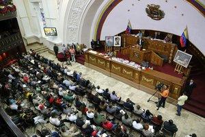 La Asamblea Constituyente de Venezuela (ANC) es integrada solo por chavistas.