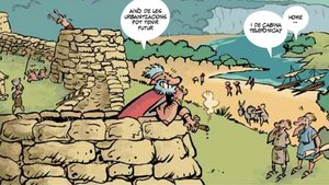 Viñeta de 'Història de les Balears en cómic'.