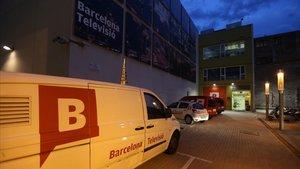Instalaciones de la tele municipal Betevé en el distrito 22@ de Barcelona.