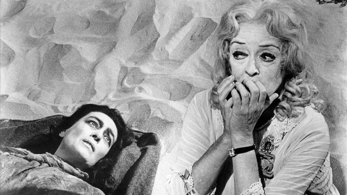 Crawford y Davis, en '¿Qué fue de baby Jane?'.leo malesuada ut euismod sem consequat. In hac habitasse platea