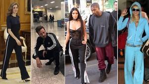 De Letizia a Kim Kardashian: la (cuarta) edad de oro del chándal